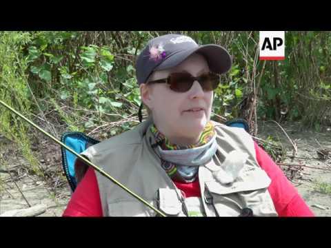 Breast Cancer Survivors Find Comfort Fly-Fishing