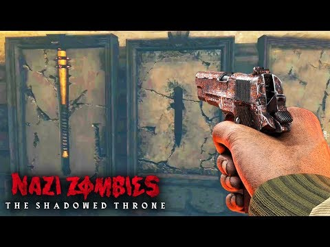 WW2 ZOMBIES: THE SHADOWED THRONE EASTER EGG GAMEPLAY HUNT! (COD WW2 Zombies)