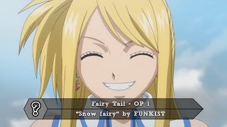 Top 30 Fairy Tail Openings and Endings