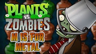 Plants vs. zombies (pc) - puzzle - m is for metal gameplay