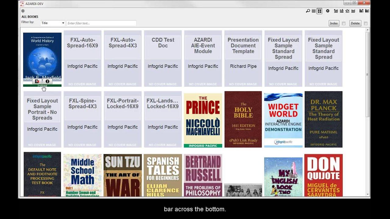 Azardi epub 3 reader free