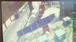 Новороссийск, взрыв газовой заправки, ДТП АЗС против фуры