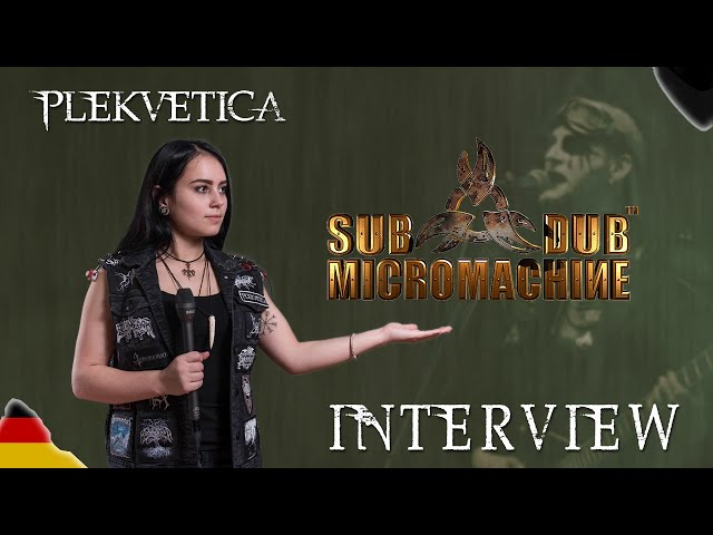[ Interview ] Sub Dub Micromachine ( 2018 ) | Industrial Metal