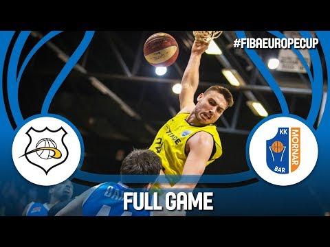 Oostende (BEL) v Mornar Bar (MNE) - Full Game - RD. of 16 - FIBA Europe Cup 2017-18