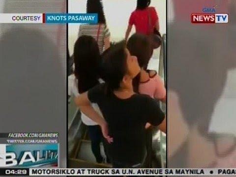 BP: Pandurukot sa pitaka ng isang babae sa mall sa Cebu City, na-hulicam