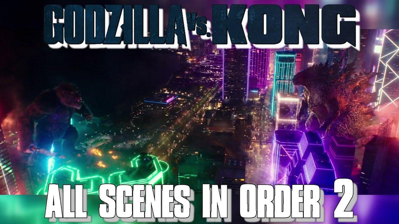 Godzilla VS Kong All Scenes In Order 2