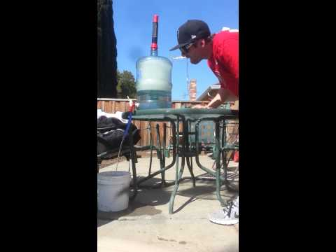 5 gallon gravity bong