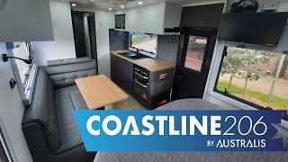 Coastline 20'6 Family Caravan Internal Overview