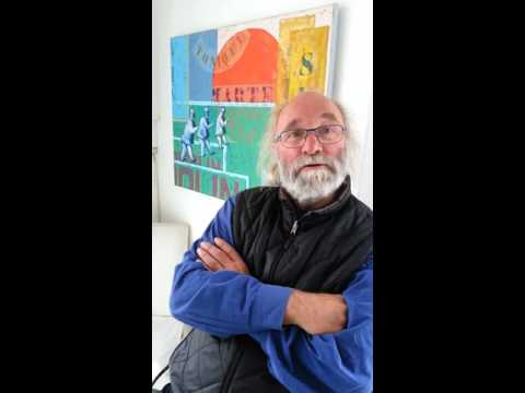 Haluna Gallery 'Talking Heads' - Artist Ken Gill