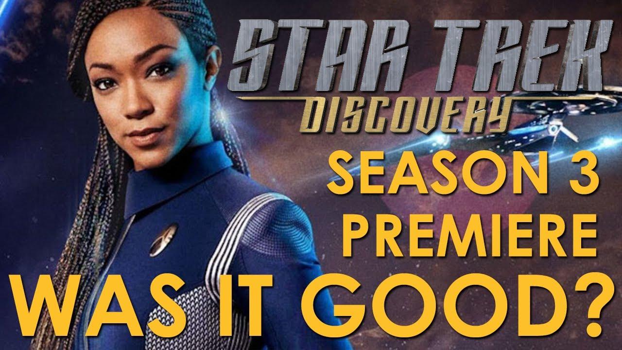 Download Star Trek Discovery Season 3 Episode 1 - Was it Good?