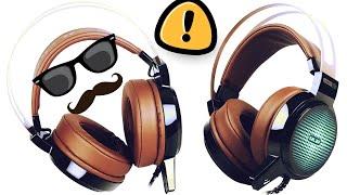 Игровые наушники Salar C13 с микрофоном с Aliexpress | алиэкспресс обзор