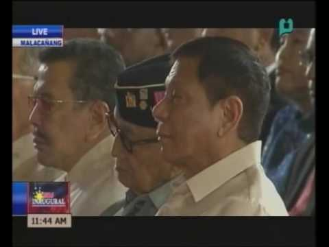 VIDEO: Sen. Pres. Drilon reads the resolution on the proclamation of President-elect Duterte