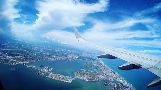 Miami ✈️ Newark / TAKEOFF 🛫 / American Airlines Boeing 737