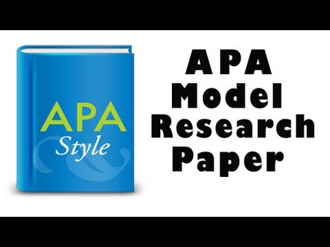 Apa research paper buy