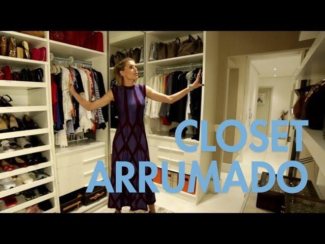 Ana Hickmann grava vídeo e mostra arrumação de cinco dias em closet 978cf4c0b8