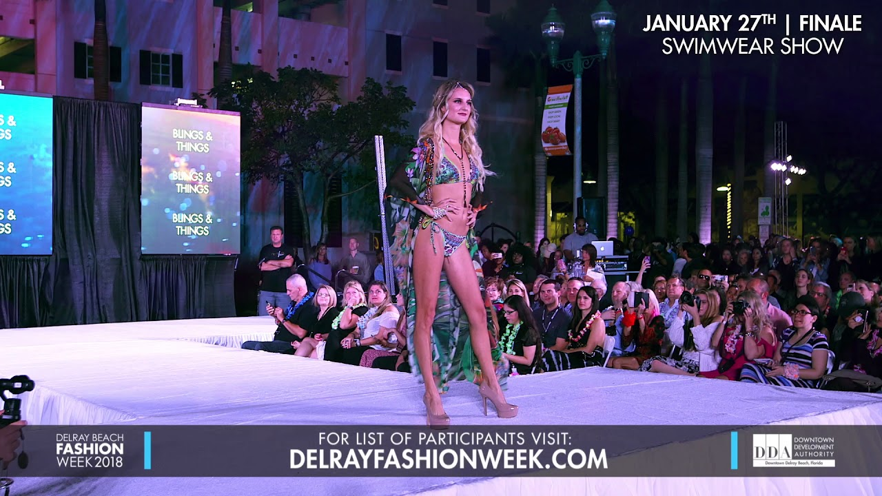 Delray Beach Fashion Week 2018 Swim And Surf Show