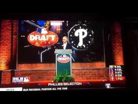 1st pick in the 2016 mlb draft!