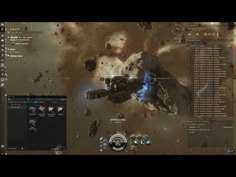 Eve Online 2019 - Mining, Making Money