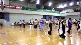 bossy line dance shanghai 2010