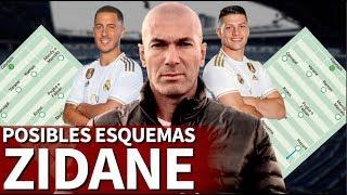 ¿Cómo jugará el nuevo Madrid de Zidane? Sus posibles opciones tácticas| Diario AS