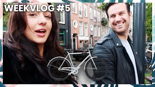 BOYFRIEND KRIJGT VELORETTI DROOMFIETS (maar kan hij wel fietsen?) | WEEKVLOG #5