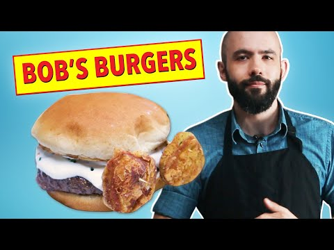 Binging With Babish Cooks Bob's Burgers For Fans