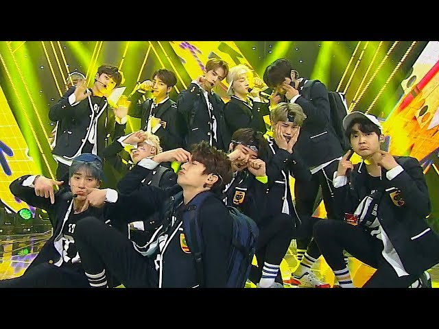 《ADORABLE》 THE BOYZ(더보이즈) - Giddy Up @인기가요 Inkigayo 20180520