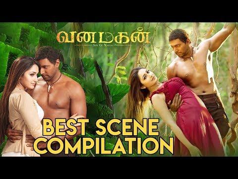 Vanamagan - Best Scene Compilation | Jayam Ravi | Sayesha Saigal |  A. L. Vijay | Harris Jayaraj