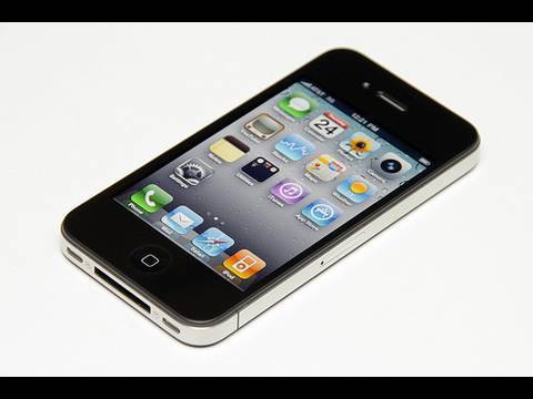 Apple iPhone 4 32GB Schwarz Unboxing [Deutsch]
