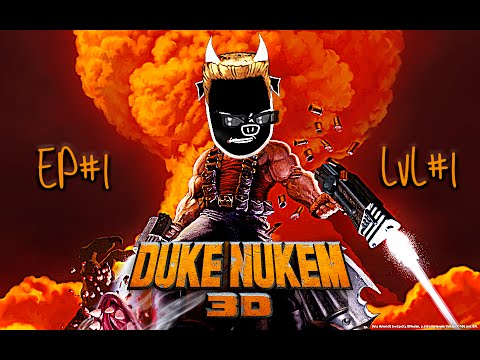 "DUKE NUKEM 3D FR - Playthrough EP01 ""hollywood holocaust !"""