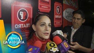 ¡Lolita Cortés habla sobre Danna Paola y sus comentarios en La Academia! | Venga La Alegría