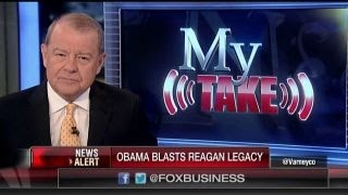 Varney: Obama denigrating Reagan is the height of arrogance