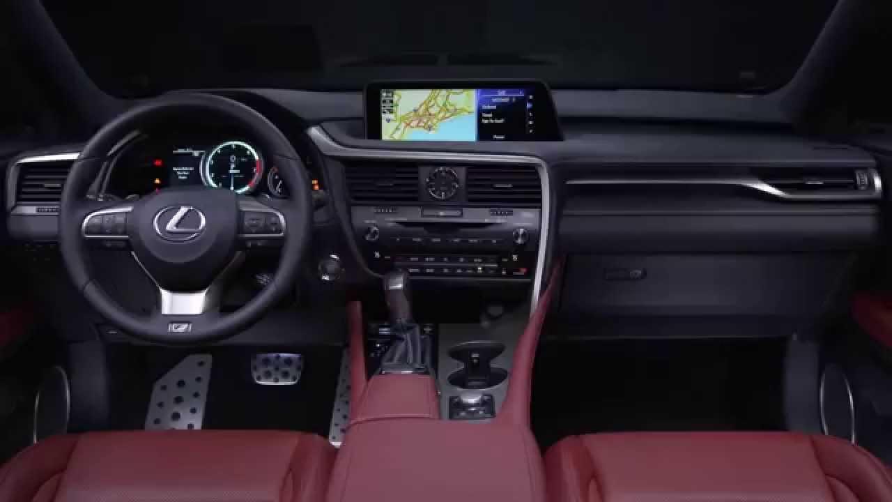 2016 Lexus RX 350 F SPORT Interior Design Trailer | AutoMotoTV ...