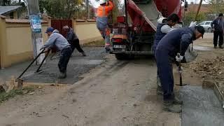 Lucrari preluare ape pluviale si acces gospodarii. Caldararu, Cernica. (2/3)