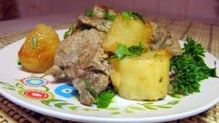 Мясо с картошкой в рукаве в духовке