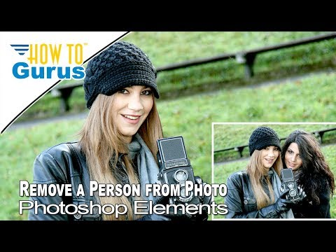 How To Remove a Person or Object from a Photo in Photoshop Elements thumbnail