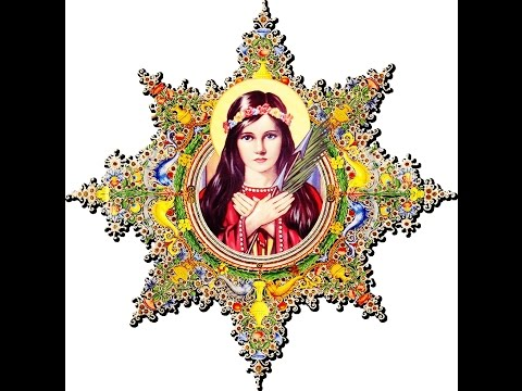Powerful prayer to St Philomena Virgin Martyr of Christ - purity, holiness, healing - 동영상