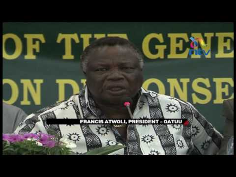 Atwoli set to be President of Africa