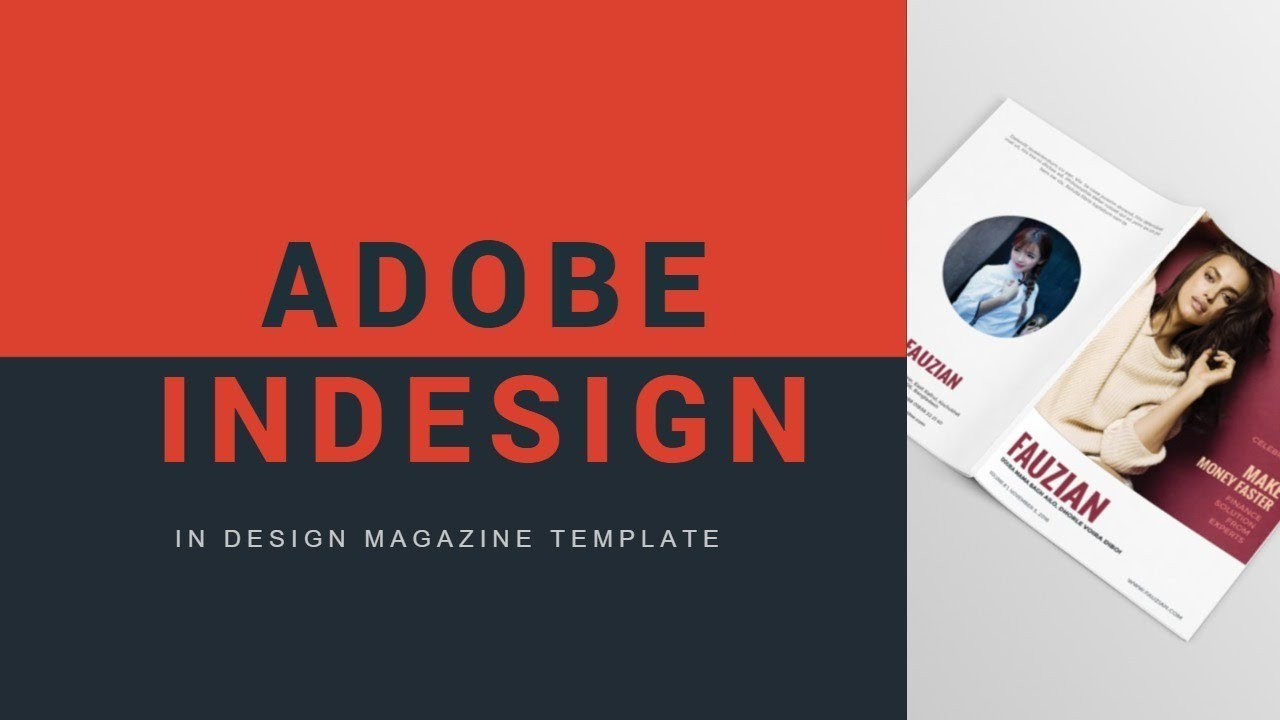 How To Edit Magazine Template In Indesign How To Create A Magazine In Indesign Cs6