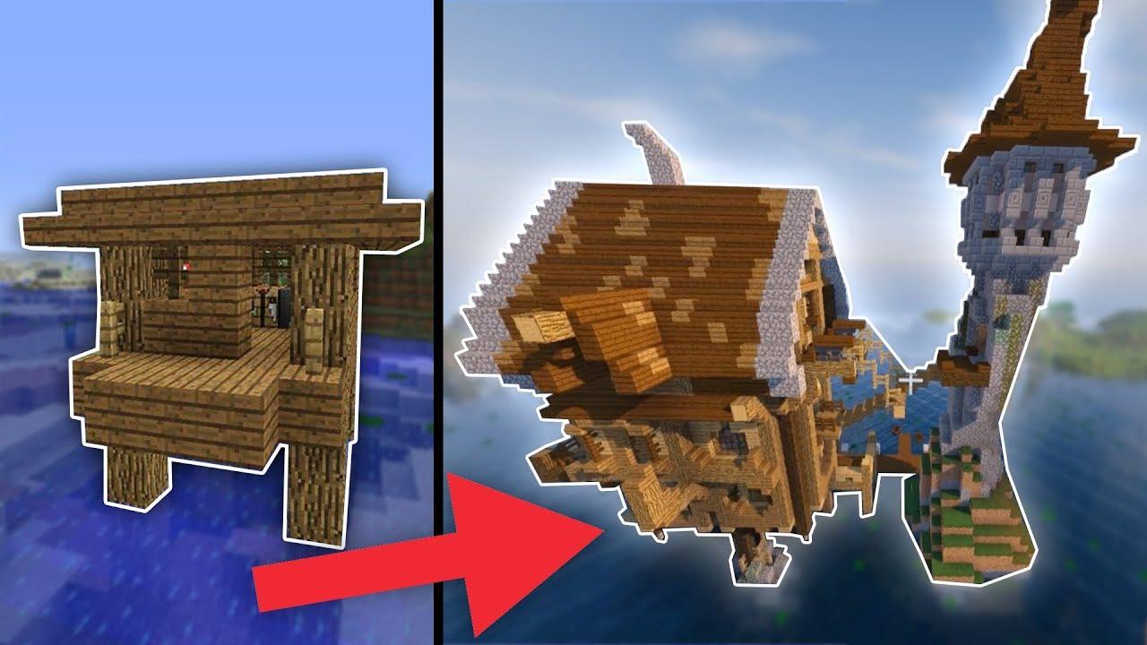 Krasse MINECRAFT HEXENHAUS Transformation KOMPLETT UMGEBAUT YouTube - Minecraft hexenhauser