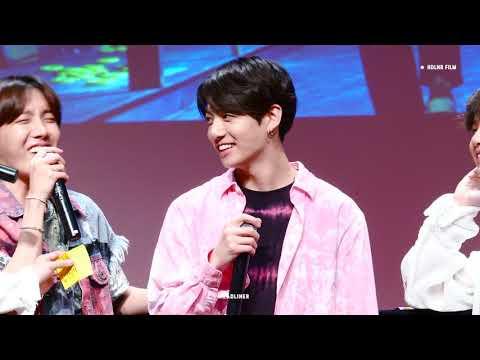 180602 LOVE YOURSELF 팬싸인회 EUPHORIA / 방탄소년단 정국 직캠 BTS JUNGKOOK FOCUS FANCAM