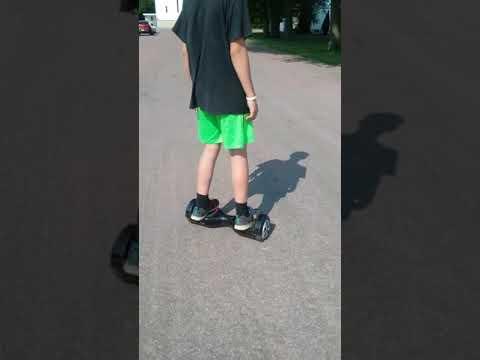Hoverboard ride Hunter smith