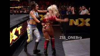 Alexa Bliss NXT Wedgie Bayley WWE Biscuit Butt