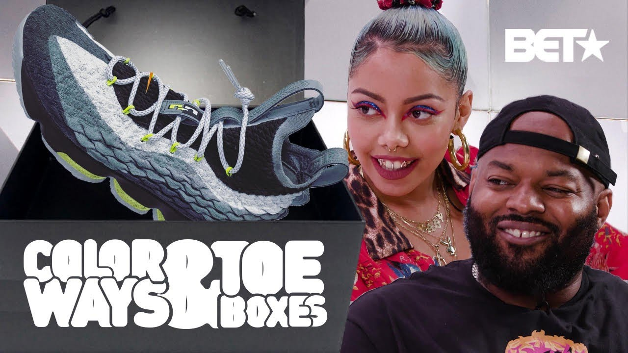 Did Nike Fail Trying To Mimic These 1 of 1 Mache Lebron Custom Sneakers? | Colorways & Toeboxes