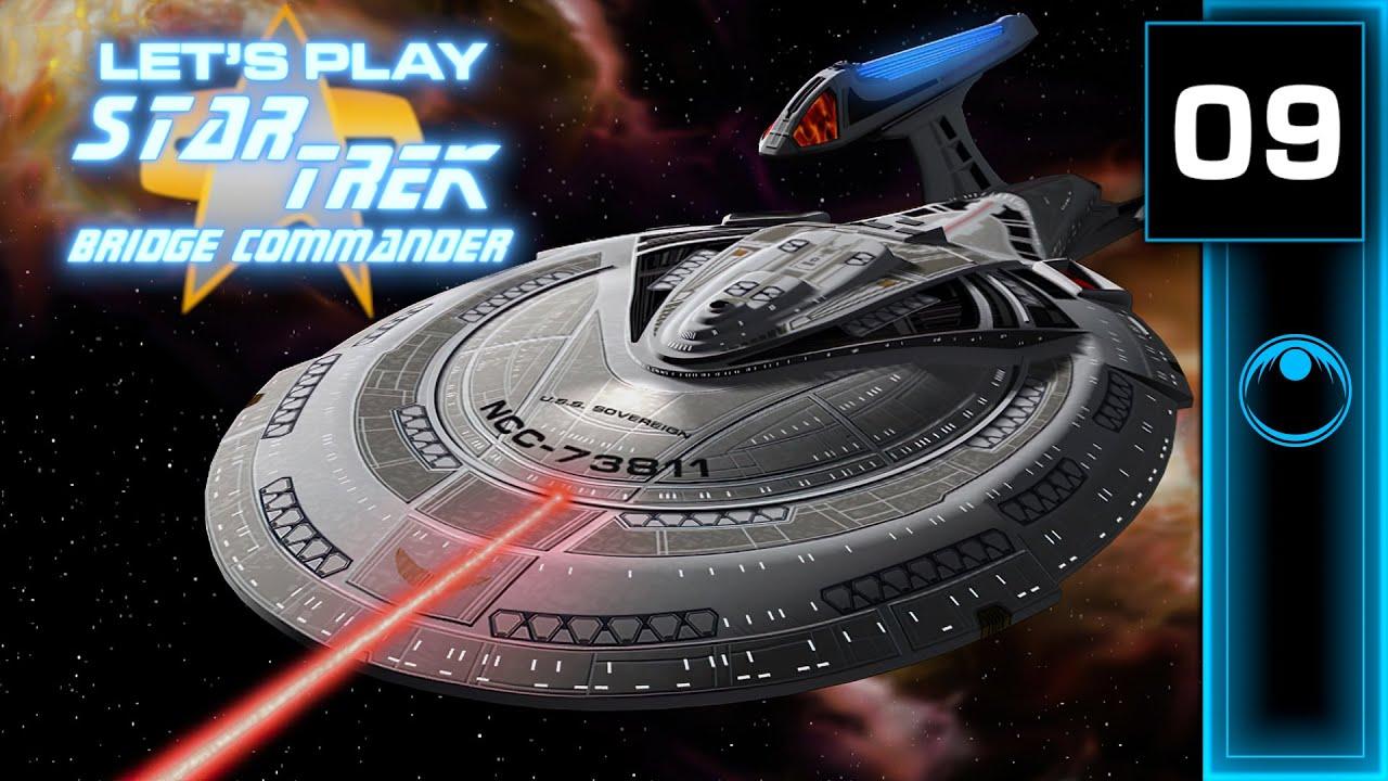 Lets Play   Star Trek: Bridge Commander #09 - Sensor Post Shenanigans