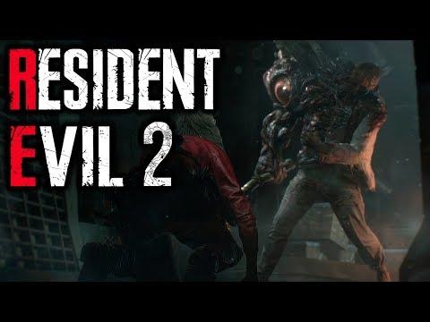 видео: ПЕРВЫЙ БОСС — Прохождение RESIDENT EVIL 2 Remake