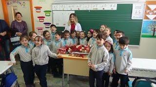 Öğretmenimize Sürpriz Kutlama Yaptık