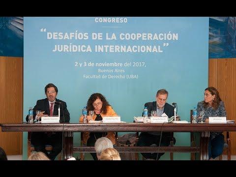 Panel: Lavado de dinero y recupero de activos - Congreso Desafíos de la Cooperación Jurídica Internacional