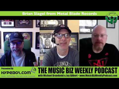 Ep. 314 Brian Slagel from Metal Blade Records, Advice for Bands Looking to Get Signed