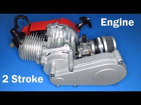49cc Engine 2-Stroke Pull Start With Transmission For Mini Moto Dirt Bike